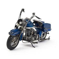 Miniatura Harley-Davidson Azul