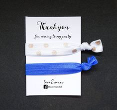 Spread the love with our 'Thank you' gift bands, personalised to order! #personalised #personalisedgifts #thankyou