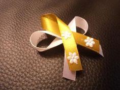 Svadobné pierka biela + zlatá