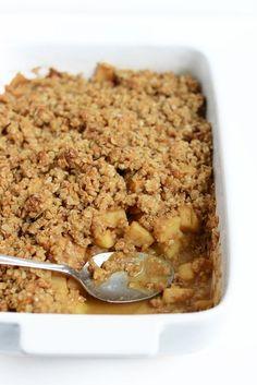 The Best Gluten-Free Apple Plum Crisp #fall #glutenfree
