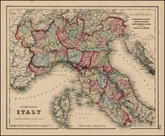 111 Best Historical Maps of Italy images