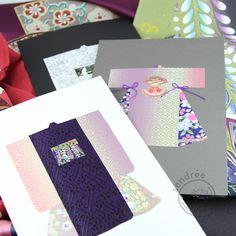 cartes kimono washi Washi, Napkins, Kimono, Tableware, Cards, Dinnerware, Towels, Dinner Napkins, Tablewares