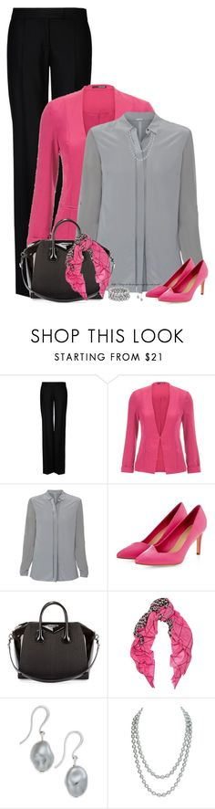 """""""Working Girl Contest"""" by amber-1991 ❤ liked on Polyvore featuring STELLA McCARTNEY, maurices, Elie Tahari, Givenchy, Mercy Delta, Charter Club, Chanel, Honora, Pink and Pumps"""