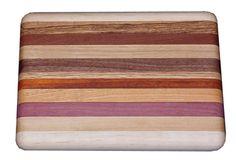 Amish Small Exotic Mixed Wood Cutting Board