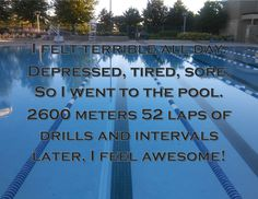 Swimming is awesome.