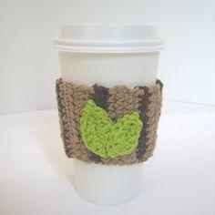 CROCHET N PLAY DESIGNS: Free Crochet Pattern: Wood Grain Cup Sleeve