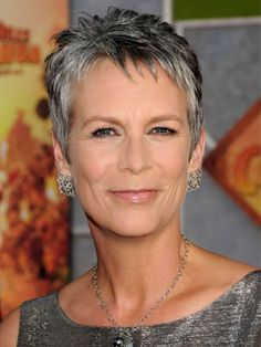 {Jamie Lee Curtis Short Hair Cuts} Short hairstyles for women over 50 fine hair Mom Hairstyles, Short Hairstyles For Women, Short Hair Cuts For Women Over 50, Short Hair Over 50, Grey Hair Over 50, Short Hair Older Women, Blonde Hairstyles, Short Haircuts 2014, Salt And Pepper Hair