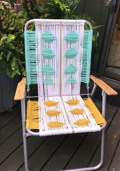 Finally this tutorial is done! For those of you who have been waiting for it, I promise your patience will be rewarded once your … More macrame lawn chair tutorial »