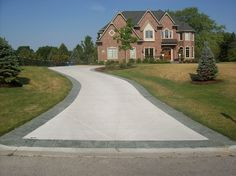 Brown And Gray Stamped Concrete Textured Concrete