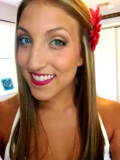 Fourth of July makeup #4thofjuly #makeup #beauty #diy #fourth #of #july