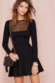 Nasty Gal Lisette Dress - Designed By Us