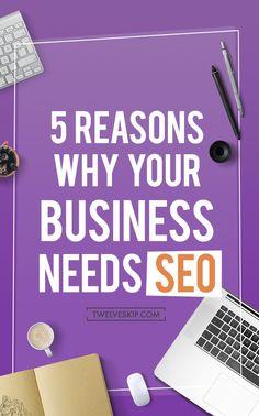 5 Awesome Reasons Why Your Business Needs SEO http://www.twelveskip.com/marketing/seo/1421/business-seo RT @Twelveskip #SEO #business #marketing