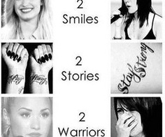 Demi Lovato & Jillian Jensen<3<3<3  2 of the people i most admire<3