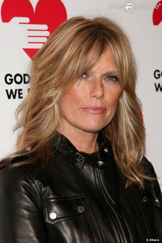 Patti Hansen at the party God's Love We Deliver Golden Heart Awards in New York on 15 October Patti Hansen, Hair Day, New Hair, Medium Hair Styles, Short Hair Styles, Mid Length Hair, Grunge Hair, Layered Hair, Great Hair