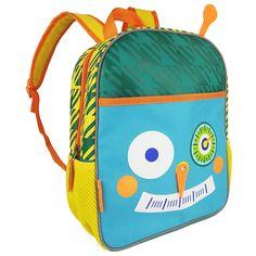 Amazon.com: Zebrum робот рюкзак со светоотражающими полосками для дошкольного и детского сада: детские игрушки и игры