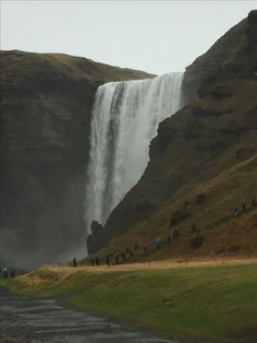 Troll faces in the cliffs, maybe? Troll Face, Iceland, Waterfall, October, Faces, Outdoor, Ice Land, Outdoors, Waterfalls