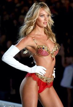 Candice S $10 million bra VS 2013