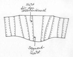 free underbust corset pattern  (in German)