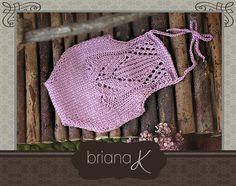 PATTERN Instant Download Newborn Knit Tulip by BrianaKcrochet