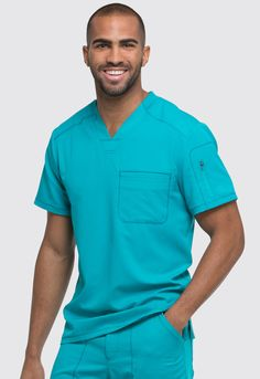 #UNIFORME #MÉDICO HOMBRE UNICOLOR DICKIES #SCRUBS #MEDICAL