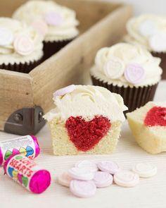 Objetivo: Cupcake Perfecto.: Cupcakes de San Valentín