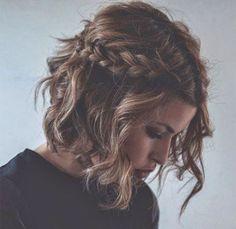 Cute Hair Styles -                                                              Loose braids   surf waves