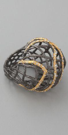Alexis Bittar Woven Dome Ring        Alexis Bittar        $190.00