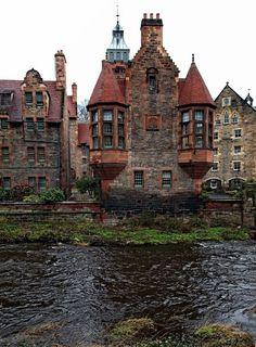 In Medieval Edinburgh, Scotland.