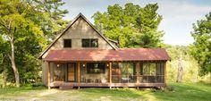 Trout Fishing Cabin - A small getaway cabin in Southeastern Minnesota. (pinned by haw-creek.com)