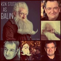 Ken Stott as Balin ~ The Hobbit Geek Out, Nerd Geek, Ken Stott, Legolas And Tauriel, Hobbit An Unexpected Journey, I See Fire, Jackson, Concerning Hobbits, Desolation Of Smaug