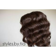 Can't go wrong with this for any bride. Hollywood Waves, Vintage Hollywood, All Things Beauty, Long Hair Styles, Bride, Beautiful, Instagram, Wedding Bride, Bridal