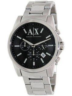 0d421638d8f Armani Exchange Chronograph Black Dial AX2084 Men s Watch Ax Watches