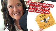 Vlog: Construction Update, Hello Crafty Kids and Valentine Crafts - YouTube Crafty Kids, Valentine Crafts, Kitchen Remodel, Construction, Youtube, Building, Updated Kitchen, Youtubers, Youtube Movies