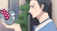 brothers conflict | Brothers Conflict Subaru chatting with Juli- His face!!
