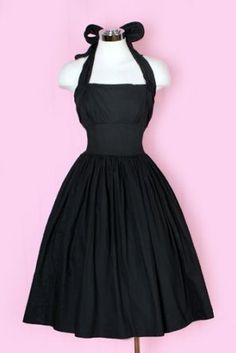 1950's Halter Dress