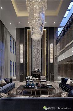 北京富力湾湖心岛别墅项目A2户型 – 嵘品设计