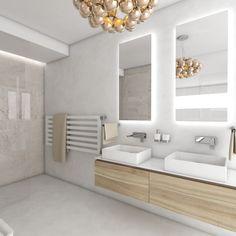 Moderní koupelna CONCRETE - vizualizace