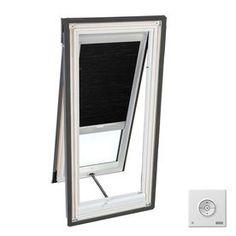 Velux 27.2-In X 27.2-In Solar Skylight Room Darkening Blind For Velux
