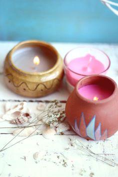 DIY Surf Wax Candles