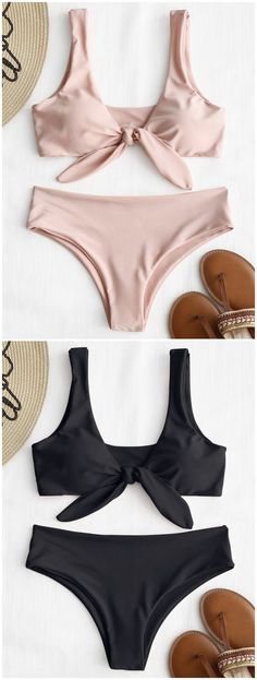 Up to 80% OFF! Front Knot Padded Bikini Set. #Zaful #Swimwear #Bikinis zaful,zaful outfits,zaful dresses,spring outfits,summer dresses,Valentine's Day,valentines day ideas,cute,casual,fashion,style,bathing suit,swimsuits,one pieces,swimwear,bikini set,bikini,one piece swimwear,beach outfit,swimwear cover ups,high waisted swimsuit,tankini,high cut one piece swimsuit,high waisted swimsuit,swimwear modest,swimsuit modest,cover ups,swimsuit cover up @zaful Extra 10% OFF Code:ZF2017