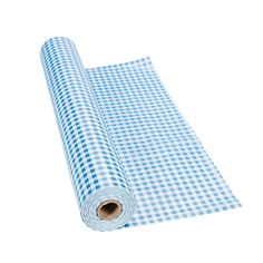 Blue Gingham Tablecloth Roll You can make it Gingham Style! Parties, picnics, BBQs or any summer time celebration - indoors or out - there's nothing better to set your table with than this large plastic Blue Gingham Tablecloth Roll! Gingham Party, Blue Party, Blue Gingham, Gingham Tablecloth, Plastic Tablecloth, Tablecloths, Babyshower, Picnic Theme, Little Blue Trucks