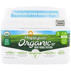 Nurture Inc. (Happy Baby), Organics Happy Baby, Infant Formula With Iron, Stage 2, 6-12 Months, 21 oz (595 g)