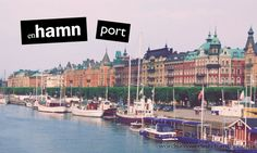 en hamn