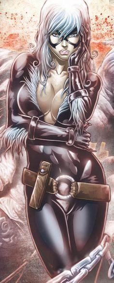 BLACK CAT by Vinz-el-Tabanas.deviantart.com on @deviantART