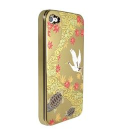 Gold Crane,Turtle for iPhone4/4S