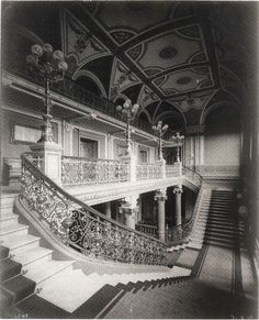 Neues Gewandhaus Leipzig um 1884