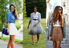 O modelo de saia que veste bem em todo mundo! - Moda it