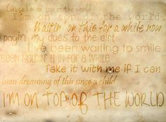 on top of the world imagine dragons wallpaper - Buscar con Google
