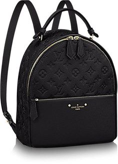 Sorbonne Backpack Monogram Empreinte in Women's Handbags collections by Louis Vuitton Louis Vuitton Rucksack, Louis Vuitton Handbags, Purses And Handbags, Leather Handbags, Black Louis Vuitton Backpack, Louis Vuitton Wallet, Gucci Handbags, Cute Mini Backpacks, Stylish Backpacks