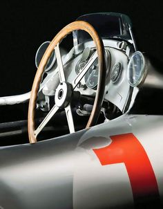 Mercedes-Benz 300 SLR | W196R | Sports Leicht Rennsport - Sports Light Racing | The W196 was the Mercedes-Benz F1 car used in the 1954 and 1955 Formula One seasons | Driven by Juan Manuel Fangio and Stirling Moss, it won 9 of 12 races in that season...